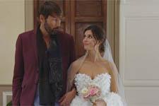 LOOK : Découvrez la robe de mariée d?Elodie !